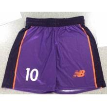 Футбольная форма фиолетовая дизайн Ливерпуля 18-19 на заказ шорты
