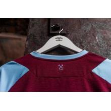 Домашняя игровая футболка Вест Хэм 2020-2021 сзади