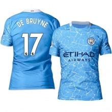 Домашняя футболка Манчестер Сити 20-21 Де Брёйне
