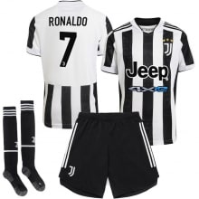 Детская домашняя футбольная форма Роналдо 2021-2022