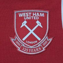 Комплект детской домашней формы Вест Хэм 2020-2021 футболка герб клуба Лингард