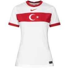 Женская гостевая футболка Турции на ЕВРО 2020-21