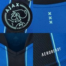 Комплект взрослой гостевой формы АЯКС 2021-2022 футболка герб клуба