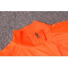 Черно оранжевый костюм сборной Голландии 2020-2021 воротник
