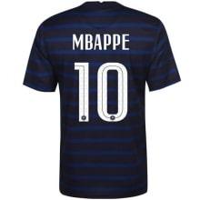 Домашняя футболка сборной Франции на ЕВРО 2020-21 Мбаппе