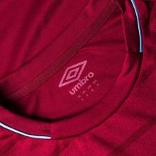 Домашняя игровая футболка Вест Хэм 2018-2019 воротник