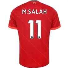 Детская домашняя футбольная форма Салах 2021-2022 футболка
