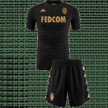 Детская гостевая футбольная форма Монако 2019-2020