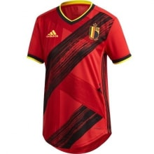 Женская домашняя футболка сборной Бельгии на ЕВРО 2020-21