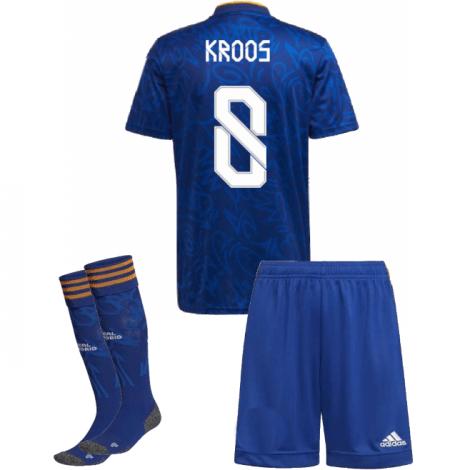 Детская гостевая футбольная форма Кроос 2021-2022