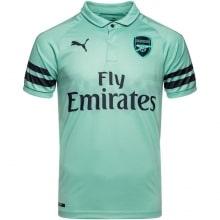 Третья футболка Арсенала Шкодран Мустафи спереди 2018-2019