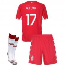 Детская домашняя футбольная форма GOLOVIN 2021-2022
