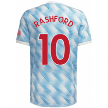 Гостевая футболка Манчестер Юнайтед Рашфорд 2021-2022