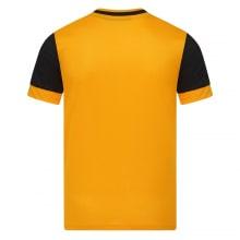 Детская домашняя форма Вулверхэмптон 2020-2021 футболка сзади