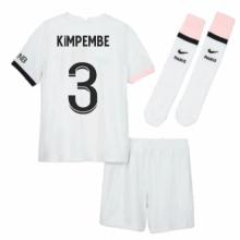 Детская гостевая футбольная форма Кимпембе 2021-2022