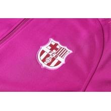 Взрослый сине-розовый костюм Барселоны 18-19 герб клуба
