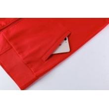 Красная кофта костюма Реал Мадрид 18 19 рукав