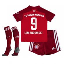 Детская домашняя форма Баварии Левандовски 2021-2022