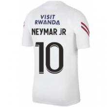 Белая тренировочная футболка NEYMAR JR ПСЖ 2021-2022