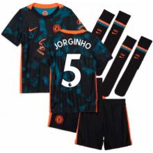 Детская третья форма Челси Жоржиньо 2021-2022
