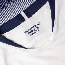 Детская домашняя футболка Гарри Кейн 2018-2019 воротник
