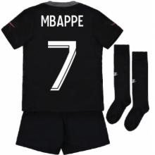 Детская третья форма ПСЖ Мбаппе 2021-2022