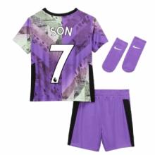 Детская третья футбольная форма Сон Хын Мин 2021-2022