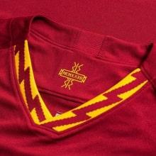Домашняя игровая футболка Ромы 2019-2020 воротник