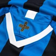 Комплект взрослой домашней формы Интер 2019-2020 футболка воротник