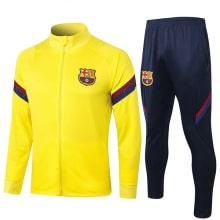 Сине-желтый костюм Барселоны 2020-2021