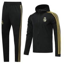 Черно-желтый костюм Реал Мадрид 2020-2021