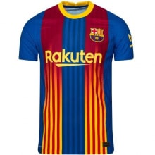Четвертая аутентичная футболка Барселоны 2020-2021