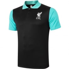 Черно-мятная футболка поло Ливерпуля 20-21