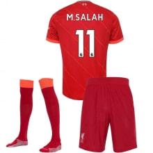 Детская домашняя футбольная форма Салах 2021-2022