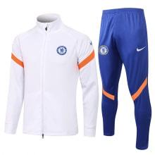 Бело-синий спортивный костюм Челси 2021-2022