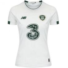 Женская гостевая игровая футболка Ирландии на ЕВРО 20-21