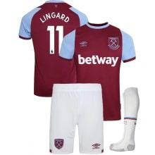 Детская домашняя футбольная форма Лингард 2020-2021