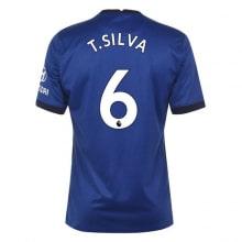 Домашняя игровая футболка Челси 2020-2021 Тиагу Силва