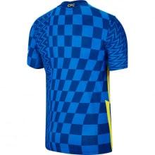 Комплект взрослой домашней формы Челси 2021-2022 футболка сзади