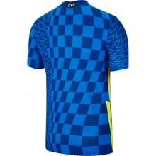 Домашняя аутентичная футболка Челси 2021-2022 сзади