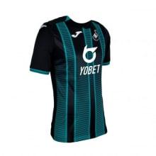 Гостевая игровая футбольная форма Суонси 2019-2020 сбоку