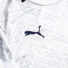 Детская гостевая футбольная форма Италии на ЕВРО 2020 бренд