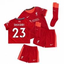 Детская домашняя футбольная форма Шакири 2021-2022