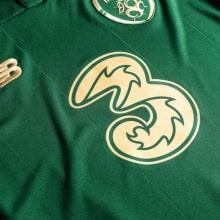 Женская Домашняя игровая футболка сборной Ирландии на ЕВРО 2020 номер