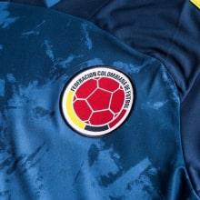 Гостевая футболка сборной Колумбии 2019-2020 герб сборной