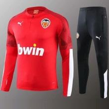 Красно черный тренировочный костюм Валенсия 2020-2021