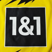Комплект детской домашней формы Боруссии 2020-2021 футболка титульный сопнсор