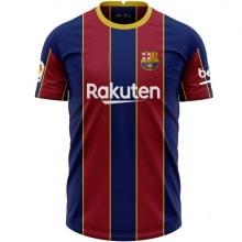 Комплект взрослой домашней формы Барселоны 2020-2021 футболка