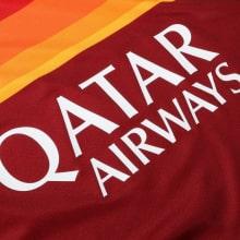 Домашняя игровая футболка Ромы 2020-2021 титульный спонсор