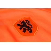 Черно оранжевый костюм сборной Голландии 2020-2021 герб сборной
